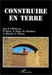 Construire En Terre - Couverture - Format classique