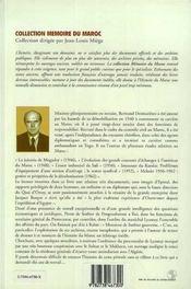 Pierre De Sorbier De Pougnadoresse ; Le Colbert De Lyautey - 4ème de couverture - Format classique