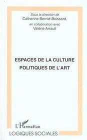 Espaces De La Culture Politique De L'Art - Intérieur - Format classique