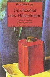 Un Chocolat Chez Hanselmann - Intérieur - Format classique