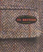 So british - Couverture - Format classique