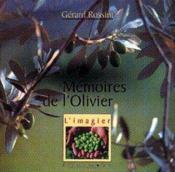 Mémoire de l'olivier - Couverture - Format classique