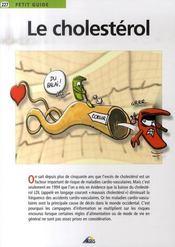 Petit Guide T.277 ; Le Cholestérol - Intérieur - Format classique