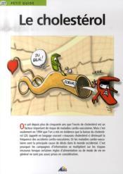Petit Guide T.277 ; Le Cholestérol - Couverture - Format classique