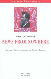 Vente livre :  News from nowhere, de William Morris  - Collectif