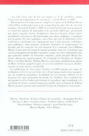 News from nowhere, de William Morris - 4ème de couverture - Format classique