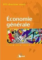 Economie generale bts 2 - Couverture - Format classique