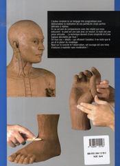 Modelage du corps humain ; pieds, mains, tête - 4ème de couverture - Format classique