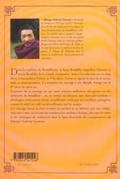 Le Message Du Futur Bouddha - 4ème de couverture - Format classique