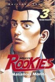 Rookies T.3 - Couverture - Format classique