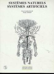Systemes Naturels Systemes Artificiels - Couverture - Format classique