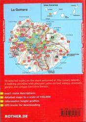Gomera (Ang) - 4ème de couverture - Format classique