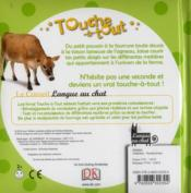 Touche-A-Tout ; La Ferme - 4ème de couverture - Format classique
