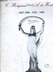 Catalogue Ventes Aux Encheres - Art 1900 1925 1950 - Drouot Rive Gauche Lundi 31 Mars 1980 A 14h. - Couverture - Format classique