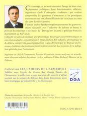 L'Armement Francais Au Xxe Siecle Une Politique A L'Epreuve De L'Histoire Les Cahiers De L'Armement - 4ème de couverture - Format classique