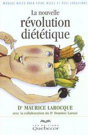 La Nouvelle Revolution Dietetique - Intérieur - Format classique