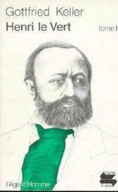 Henri Le Vert Tome 1 - Couverture - Format classique
