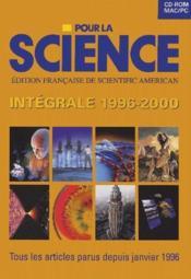 Pour la science ; l'intégrale ; tous les articles parus 1996-2000 - Couverture - Format classique