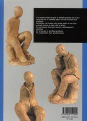 Modelage du corps humain ; la silhouette - 4ème de couverture - Format classique