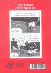 Billy micmac t.1 - 4ème de couverture - Format classique