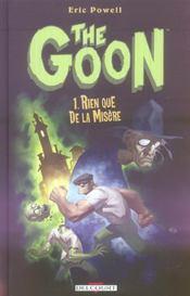 The goon t.1 ; rien que de la misère - Intérieur - Format classique