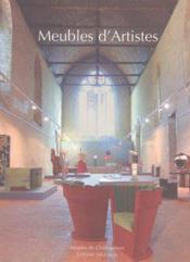 Meubles d'artistes - Couverture - Format classique