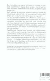 Voyager La Nuit. Interpretation Des Reves En Ethnopsychiatrie - 4ème de couverture - Format classique