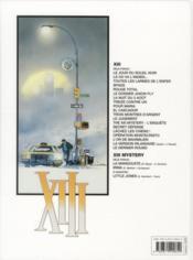XIII t.7 ; la nuit du 3 Août - 4ème de couverture - Format classique