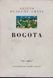 Bogota - Couverture - Format classique