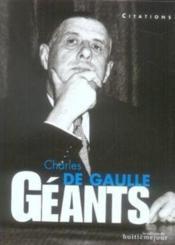 Charles de gaulle - Couverture - Format classique