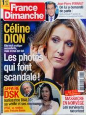 France Dimanche N°3387 du 29/07/2011 - Couverture - Format classique