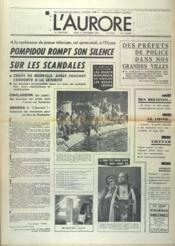 Aurore (L') N°8726 du 21/09/1972 - Couverture - Format classique