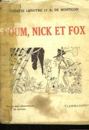 Poum, Nick Et Fox. - Couverture - Format classique