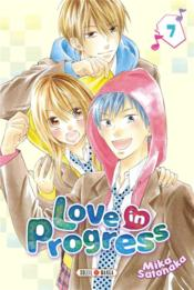 Vente livre :  Love in progress T.7  - Mika Satonaka