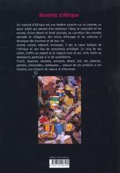 Marches d'afriques - 4ème de couverture - Format classique