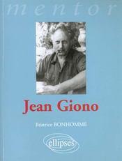 Jean Giono - Intérieur - Format classique