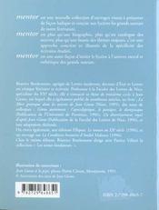 Jean Giono - 4ème de couverture - Format classique