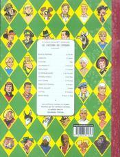 Chick Bill contre l'invisible - 4ème de couverture - Format classique