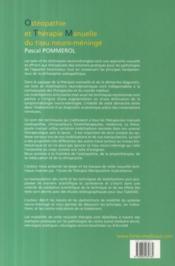 Ostéopathie et thérapie manuelle du tissu neuro-méningé - 4ème de couverture - Format classique
