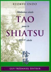 Tao Pour Le Shiatsu - Couverture - Format classique