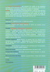 Revue L'Autre T.16 ; Voyages, Migration, Errances - 4ème de couverture - Format classique