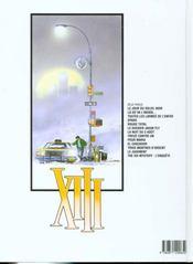 XIII t.8 ; treize contre un - 4ème de couverture - Format classique