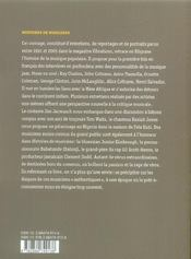 Histoires De Musiciens - 4ème de couverture - Format classique