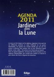 livre agenda jardiner avec la lune jour par jour tous les gestes indispensables 2011. Black Bedroom Furniture Sets. Home Design Ideas
