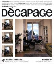 Vente livre :  Decapage N.44 ; Automne/Hiver 2011  - Decapage
