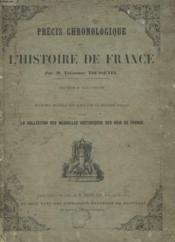 Precis De Chronologie De L'Histoire De France - Couverture - Format classique