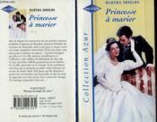 Princesse à marier - Couverture - Format classique