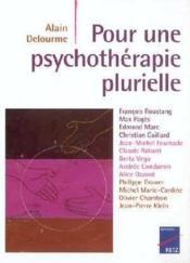 Pour une psychothérapie plurielle - Couverture - Format classique