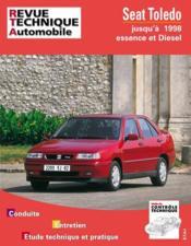 Rta 554.3 seat toledo essence et diesel (1991/1998) - Couverture - Format classique