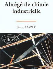 Abrege De Chimie Industrielle - Intérieur - Format classique